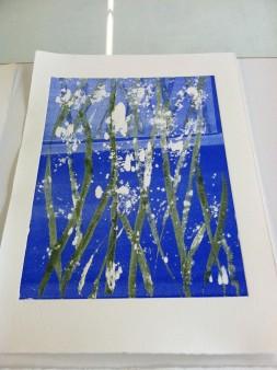 Seaweed print