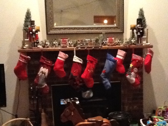 Stockings hung up