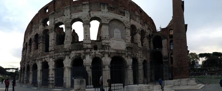Coliseum wide