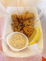 Fried Oysters from The Canteen