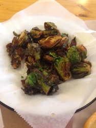 Crispy Brussels Sprouts from The Canteen